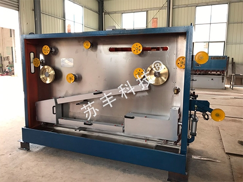 Horizontal 270 annealing device with middle pull