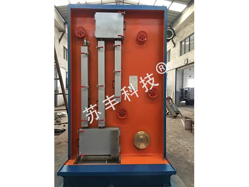 Centrally pulled 270-2 type annealing device