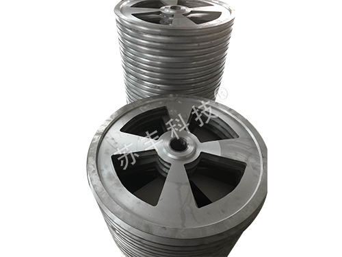 Aluminum guide wheel, carbon steel and stainless steel guide wheel