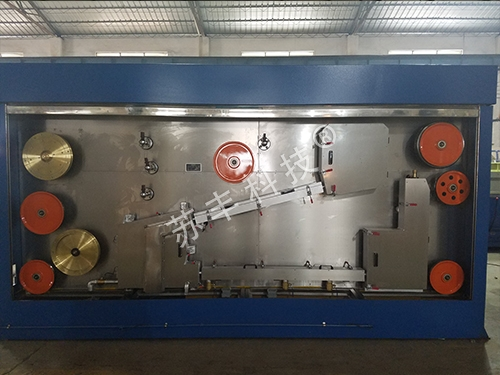 Large drawing annealing device