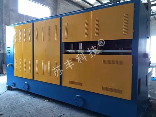 AC double-end annealing device with large pull