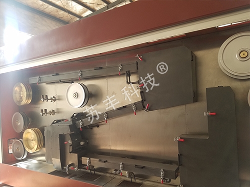 AC annealing of large pull double ends