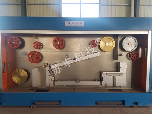 DC annealing device with large tension